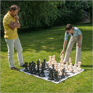Jumbo Garden Chess 43cm049